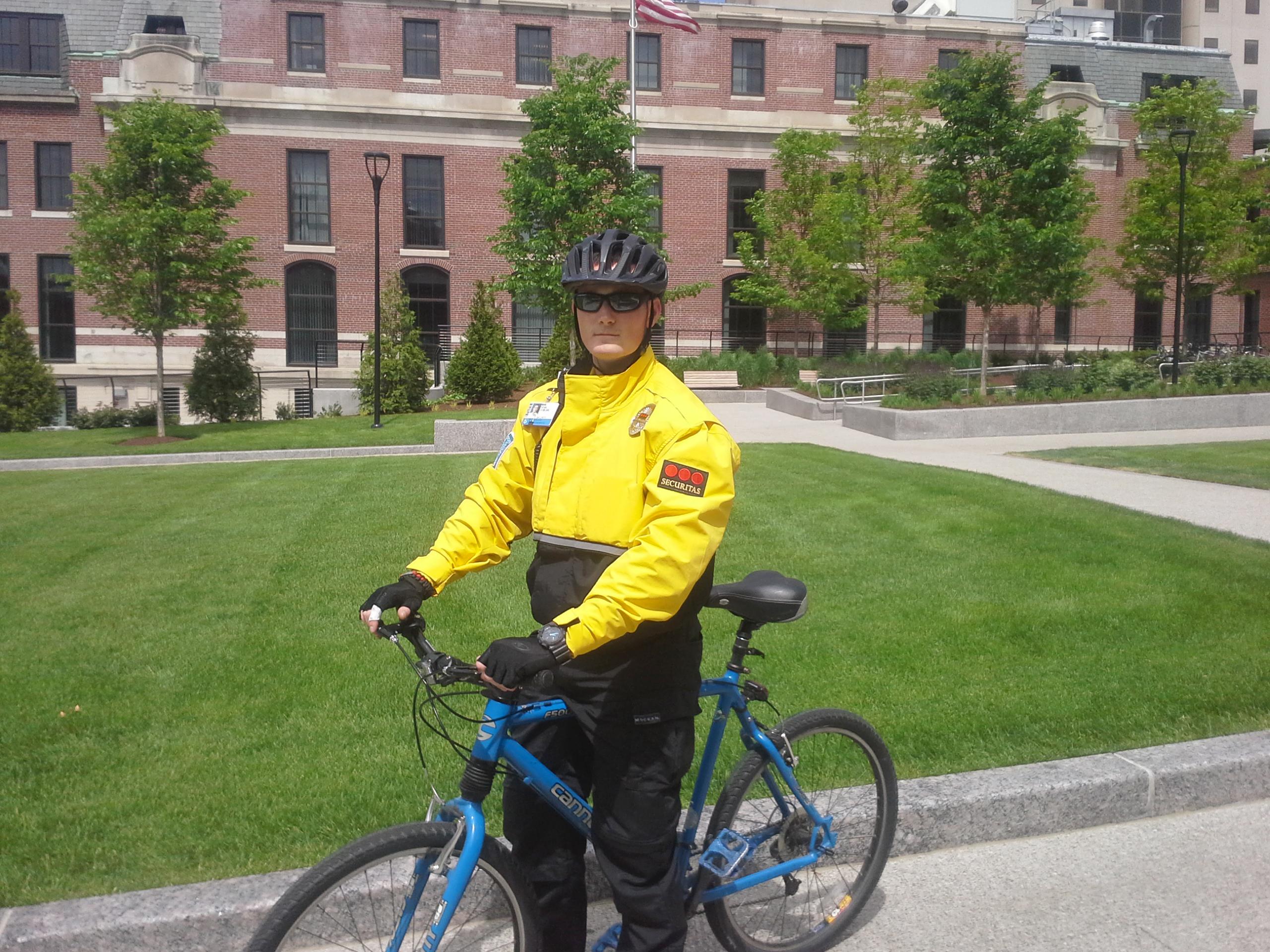 Security officer Sean Doolan