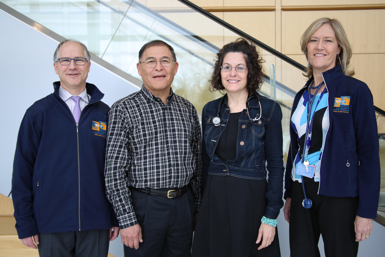 From left: Michael Givertz, Arnold Ketchum, Nicolette McDermott-Ketchum and Lynne Stevenson