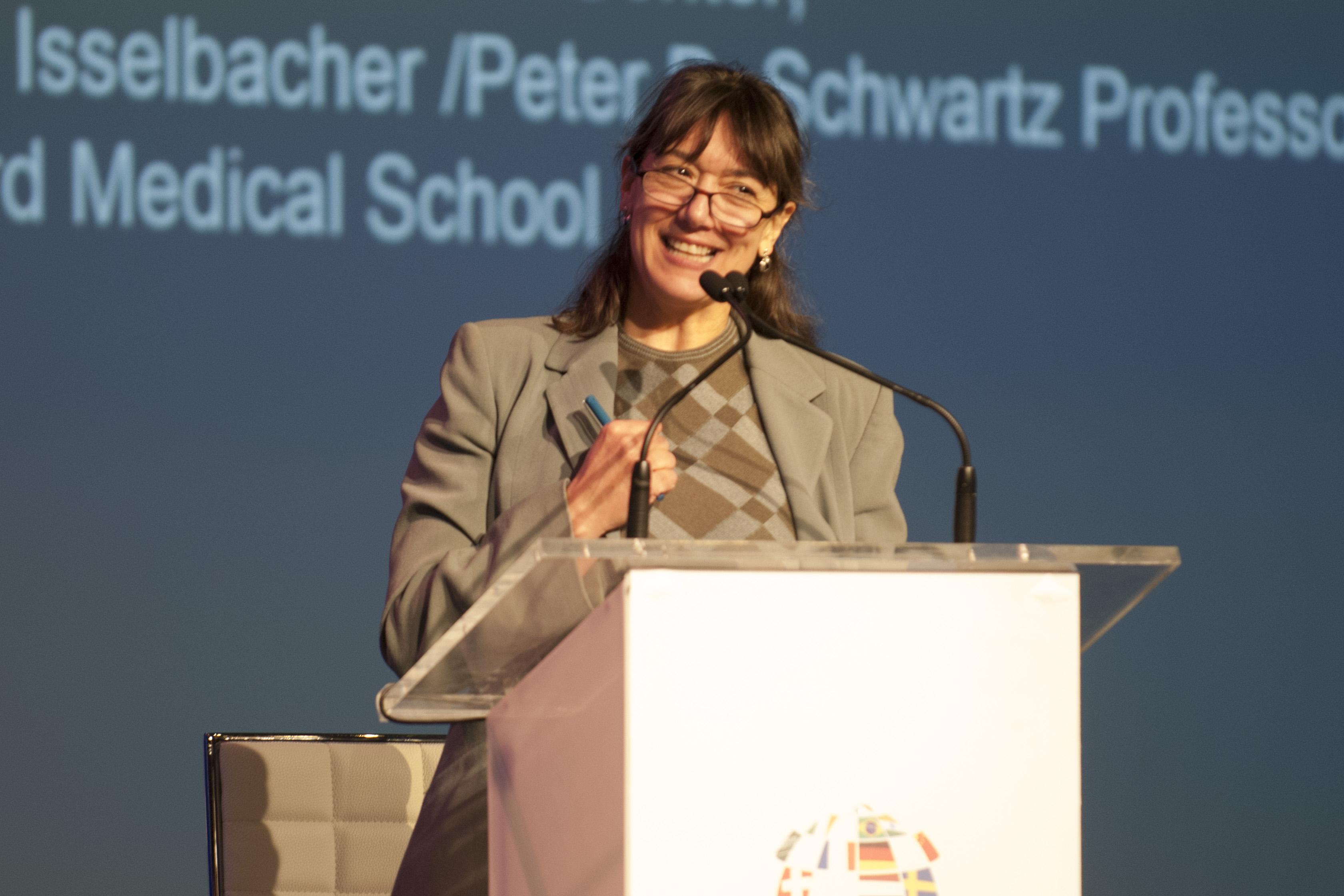 BWH's Monica Bertagnolli at this year's World Medical Innovation Forum