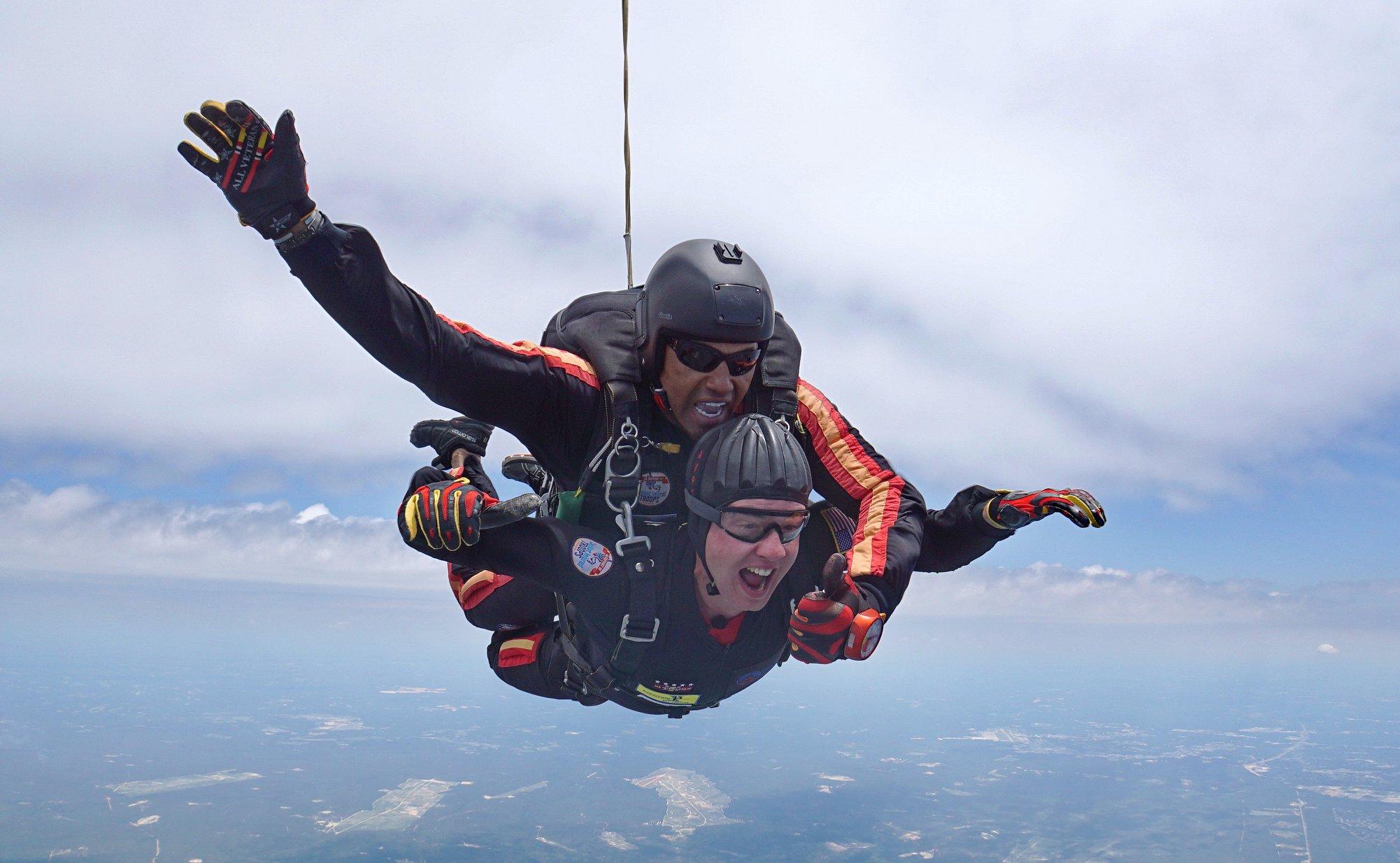 Brigham Surgeons Arrange Skydiving Experience for Patient