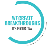 We create breakthroughs. It's in our DNA logo.