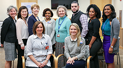 The Patient and Family Relations team