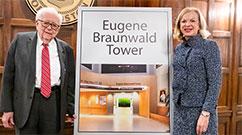 Eugene Braunwald and Betsy Nabel