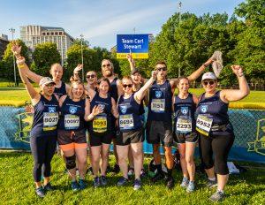 BAA 10K runners celebrate