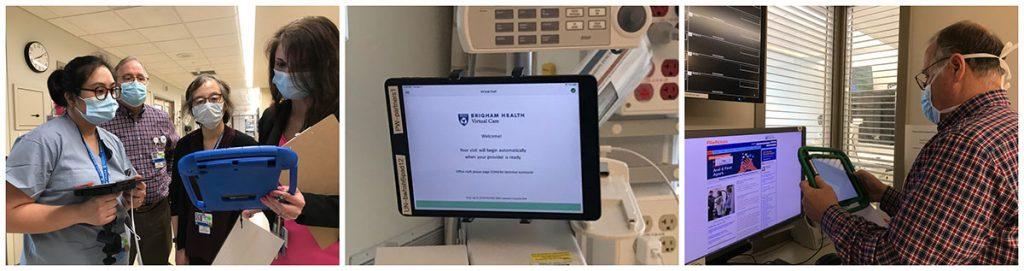 Testing virtual intercom system