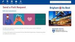 Brigham @ It's Best landing page