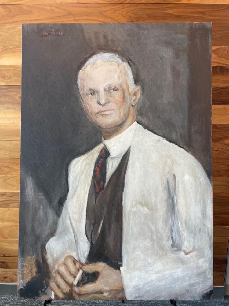 portrait of Harvey Cushing